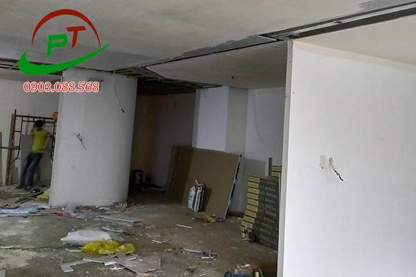 Công trình sơn văn phòng tại Pearl Plaza