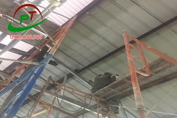 Sửa chữa trần nhà tại 345/128A trần hưng đạo q1