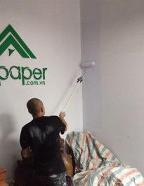 Công trình sơn nhà tại phú nhuậ